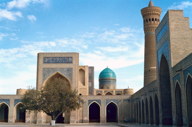 Bukhara along the old silk road